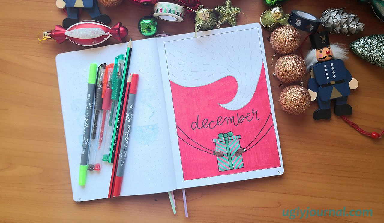 AMAZING IDEAS FOR YOUR DECEMBER BULLET JOURNAL