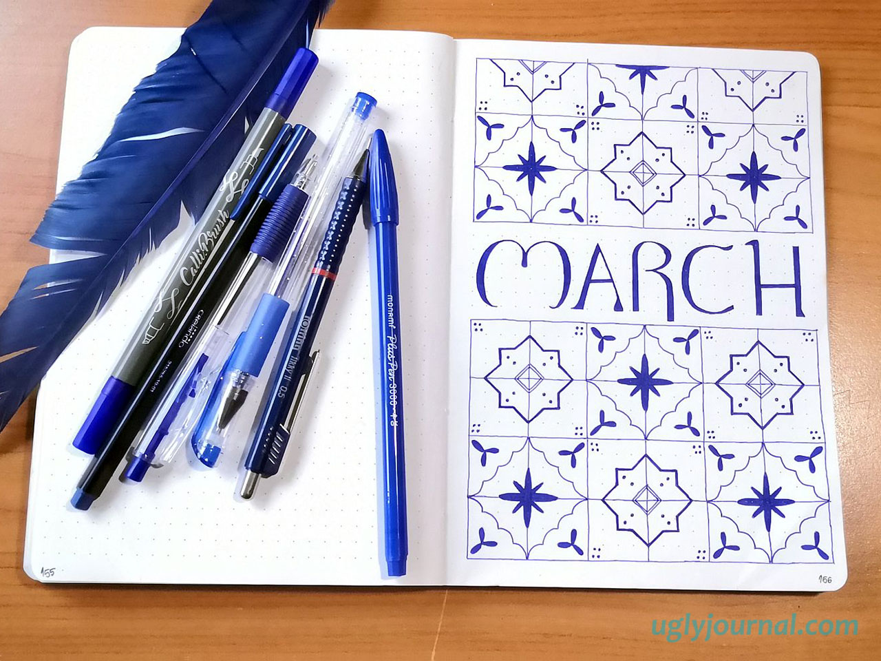 IDEAS FOR YOUR MARCH BULLET JOURNAL THEME