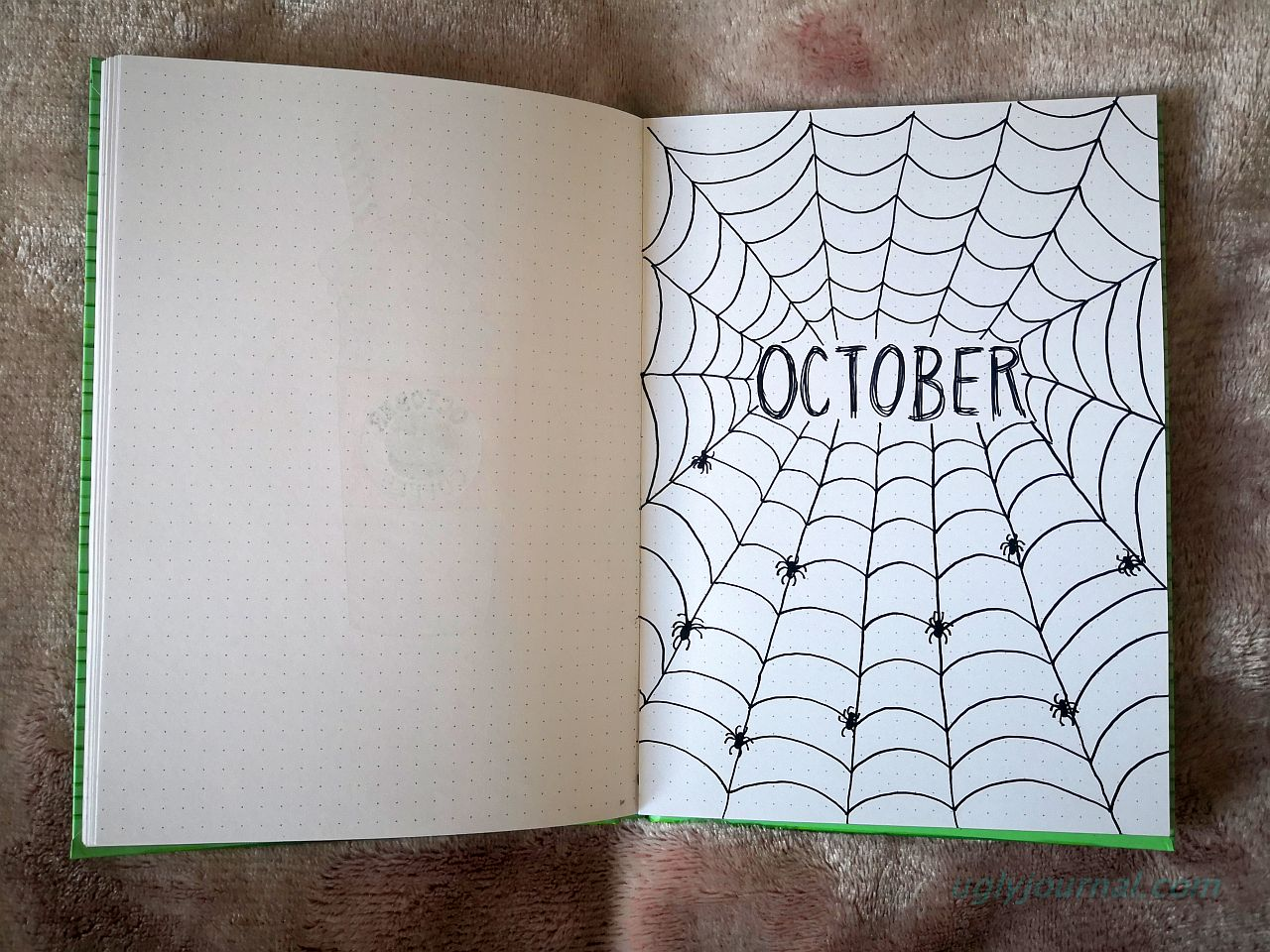 THE SIMPLEST OCTOBER BULLET JOURNAL IDEAS